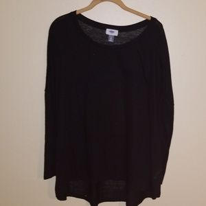 Old navy light weight black sweater